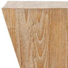 Pickled Oak Floor Finish by Safavieh Noatak Pickled Oak Side Table Fox1009a The Home Depot