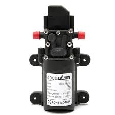 Oil Rain Lamp Pump by Fl 3308 130psi 6l Min Water High Pressure Diaphragm Pump Caravan