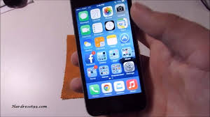 iPhone 5c 32GB Hard Reset Factory Reset & Password Recovery