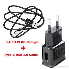 Eu Us Plug 2a 2 4a Usb Mobile Phone Cell Phone Travel Chargers Usb Data Cable For Lenovo K6 K6 Power K6 Note Vibe C C2 K10a40 C2 Power Cell Phone Charging