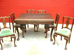 Old Dining Room Tables Fashioned Chairs Vintage Furniture For Sale O