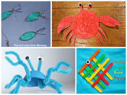 Ocean Animal Crafts Like These Are Perfect Summer For Kids