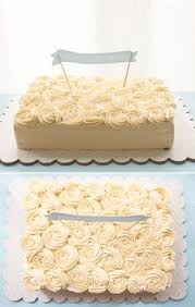 Thankyou Cake I Want To Make A Like This Love The Piped Roses On Top