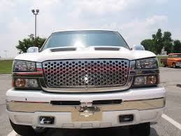 Chrome Stainless Steel Punched Hole Sheet Grill In 2003-2006 Chevy ... 2015 Chevrolet 2500 Hd Beginners Luck How To Install A Phantom Billet Grill On Chevy C10 Youtube Front End Dress Up Kit With 7 Single Round Headlights 1973 2017 Silverado 1500 Status Custom Truck Accsories Cctp130501o1956chevroruckcorvettegrille Hot Rod Network Stull Overlay Grille 2006 2500hd Install Trex 2014 Grilles Available Now Stillen Garage Lifted Super Gallery Photos Mycarid 6211270 Main Laser
