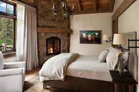 Bedroom Rustic Elegant Bedroom Designs Natural Wood Dit Loft Bed