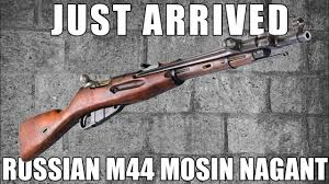 100 M44.com Small Exclusive Batch Of M44 Mosin Nagant Just Arrived YouTube