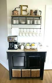 Large Basement Coffee Station Complete With Chalkboard
