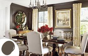 Brown Dining Room Color Trends