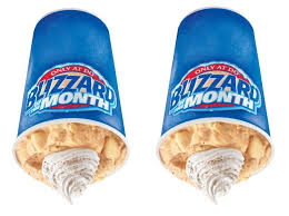 Pumpkin Pie Blizzard Calories Mini by Brand Eating August 2015