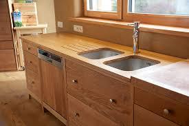 meuble cuisine en chene cuisine tout en chêne massif naturel ecologie design