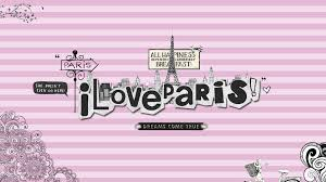 Wallpaper Love Paris By Creamanuali On We Heart It
