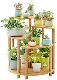 hyxi blumengestell pflanzenregal multi tier solid wood