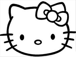 Free Hello Kitty Coloring Page To Print For Girls