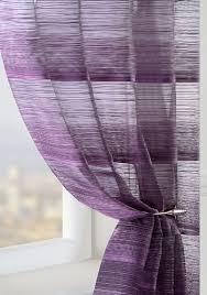 Strata Voile Curtain Panel Plum Cheap Green Curtain Voile
