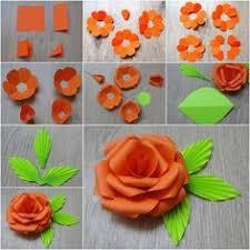 DIY Easy Origami Paper Rose Tutorial