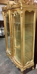 barock vitrine schrank antik stil in 65468 trebur für 1 499