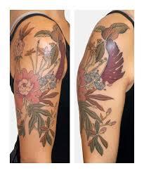 Brindi Flower Tattoo