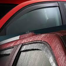 100 Truck Window Visors 0614 Honda Ridgeline Smoke Tint Side Visor Shade