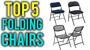 TOP 5 Best Folding Chairs In 2018