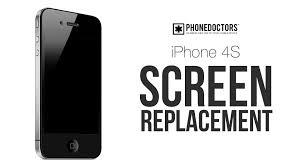 iPhone 4S LCD Screen Repair GSM CDMA for AT&T Sprint and Verizon