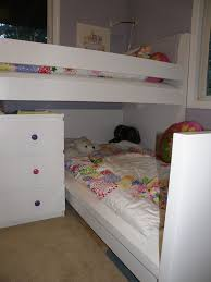 Bunk Bed With Trundle Ikea by Bedroom Delightful Shared Kid Bedroom Decoration Using Light