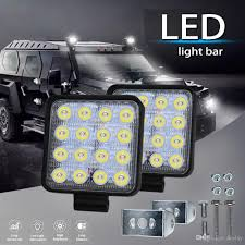 New LED Flood Light Offroad 12V 24V 48W LED Work Lights Car Truck ... 4x 4inch Led Lights Pods Reverse Driving Work Lamp Flood Truck Jeep Lighting Eaging 12 Volt Ebay Dicn 1 Pair 5in 45w Led Floodlights For Offroad China Side Spot Light 5000 Lumen 4d Pod Combo Lights Fog Atv Offroad 3 X 4 Race Beam Kc Hilites 2 Cseries C2 Backup System 519 20 468w Bar Quad Row Offroad Utv Free Shipping 10w Cree Work Light Floodlight 200w Spotlight Outdoor Landscape Sucool 2pcs One Pack Inch Square 48w Led Work Light Off Road Amazoncom Ledkingdomus 4x 27w Pod