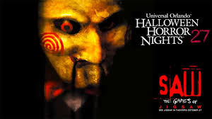 Halloween Theme Park Uk by Saw Haunted House Walk Through 4k Pov Halloween Horror Nights