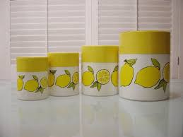 Been Looking For Lemon Cannisters