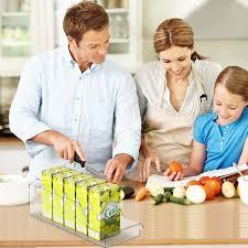 ulinek aufbewahrungsbehälter kühlschrank organizer für küche kühlschrank speisekammerregale zum aufbewahren obst gemüse joghurt backutensilien