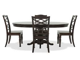 Mathis Brothers Patio Furniture by Ashley Porter Five Piece Round Dining Set Mathis Brothers Furniture