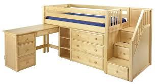 Low Loft Bed With Desk Underneath low loft beds with desk u2013 act4 com