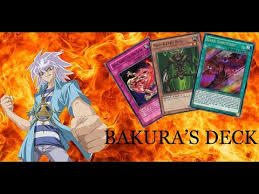 yugioh bakura character deck yu gi oh bakura s deck