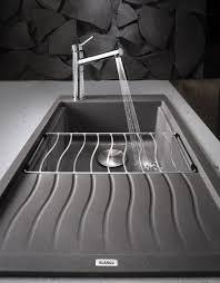 blanco silgranit ii sinks precis medium single w drainer