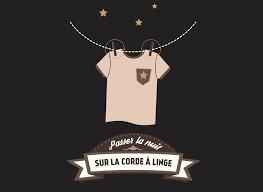 boutique la corde a linge expression québécoise passer la nuit sur la corde à linge