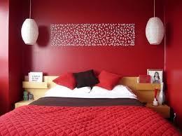 coole deko ideen und farbgestaltung schlafzimmer rot mit diy