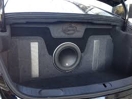 100 Subwoofer Box For Trucks 20142016 Chevy Impala Custom Trunk