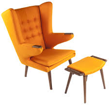 Hans Wegner Papa Bear Chair Leather by Mid Century Modern Reproduction Pp19 Papa Bear Chair