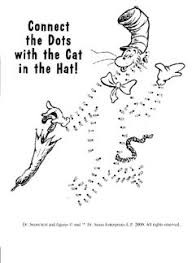 Dr Seuss Dot To Coloring PagesPrintable