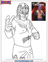 Coloring Pages Wwe 20 Free Printable WWE Wrestling