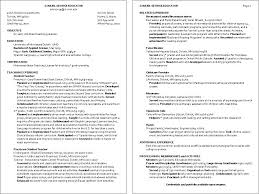 Resume Examples Umd Packed With Child Care Amazing Objective Example To