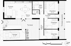 plan maison plain pied 3 chambres en l plan maison plain pied 3 chambres frais logiciel pour plan maison