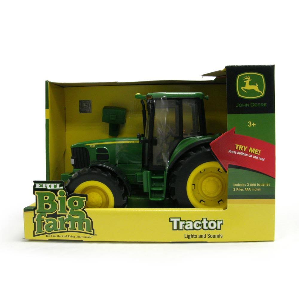 John Deere Big Farm Tractor Lights and Sounds Toy Kids
