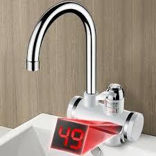 Durchlauferhitzer Armatur 3000w Pro Sofortigerelektrische Küche 3000w Temperaturanzeige Elektrische Heizung