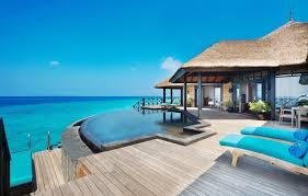 100 Maldives Infinity Pool Wallpaper Ocean Bedroom Suites JAManafaru