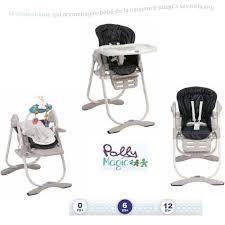 chaise haute i sit chicco chicco chaise haute polly magic black noir achat vente chaise