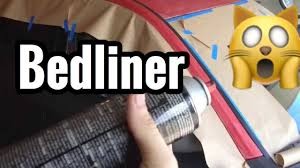 Spray Paint Bed Liner Whole Truck