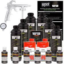 Amazon.com: U-POL Raptor Charcoal Metallic Urethane Spray-On Truck ...