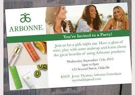 10 Fantastic Psd Arbonne Flyer Template Designs Free Premium Party Invitations