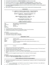 Mba Fresher Resume Sample Format Amusing In For Marketing Free Template