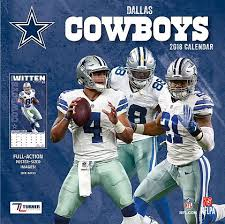 2018 12x12 Dallas Cowboys Team Wall Calendar fice